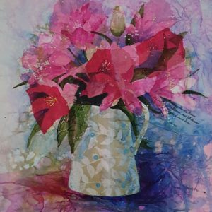Mixed Media Flower Study #2 – Lilies