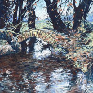 Medieval Bridge in Autumn