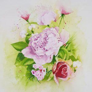 Flowers for Oma Honey
